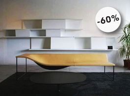 CAPPELLINI - Chaise Longue Outline (Offerta Expo)