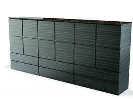 FLEXFORM - Century Storage Unit