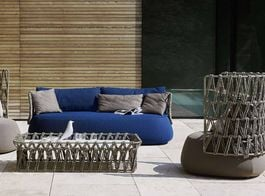 B&B ITALIA OUTDOOR - Fat-Sofa Outdoor Armchair