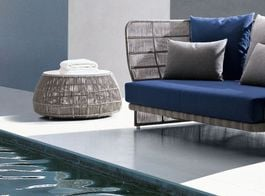 B&B ITALIA OUTDOOR - Canasta '13 Outdoor Small Tables